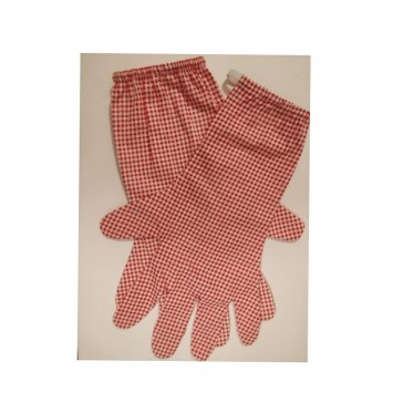 Printed Cotton gloves, pack of 2