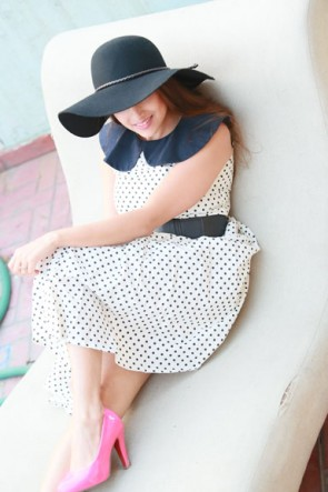 Blair Polka Dot Dress